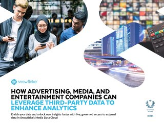 How Advertising, Media, and Entertainment Companies Can Leverage Third-Party Data to Enhance Analytics