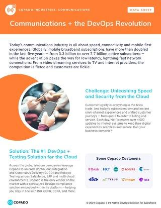 Communications + the DevOps Revolution