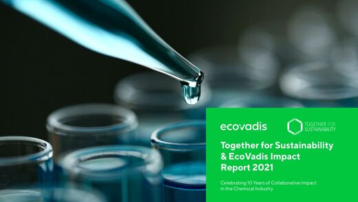 Together for Sustainability & EcoVadis Impact Report 2021