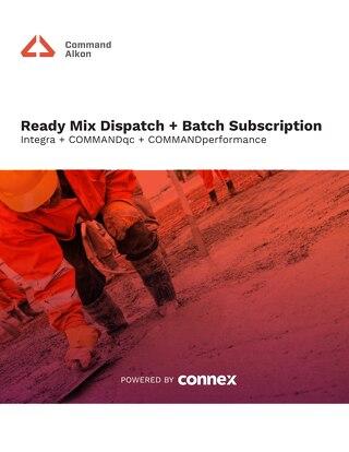 Ready Mix + Batch Integra Subscription