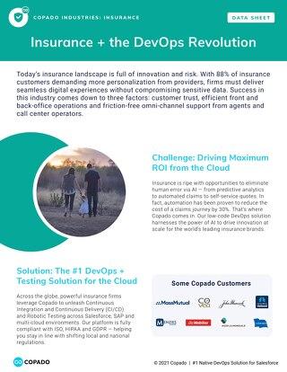 Insurance + the DevOps Revolution