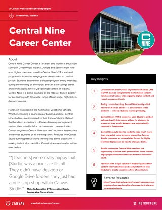 Central Nine Career Center