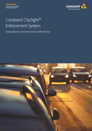 Conduent CitySight® Enforcement System