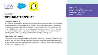 Snapchat: Win Story