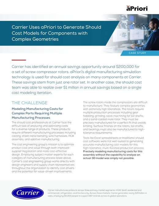 Carrier Case Study