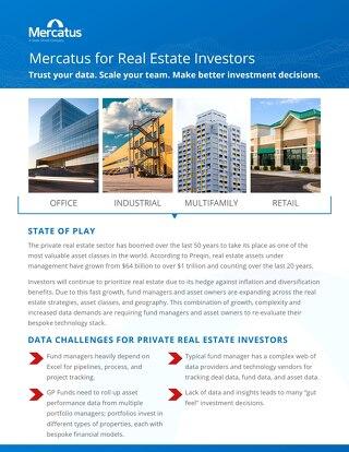 Mercatus Real Estate Brochure