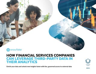How Financial Services Companies Can Leverage Third-Party Data in Their Analytics