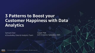 3 Patterns to Boost your Customer Happiness with Data Analytics