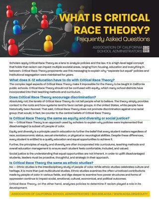 FAQ: Critical Race Theory