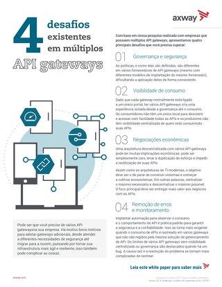 4 desafios existentes em múltiplos API Gateways