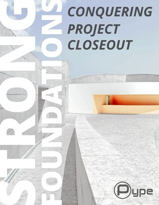 Strong Foundations - Conquering Closeout