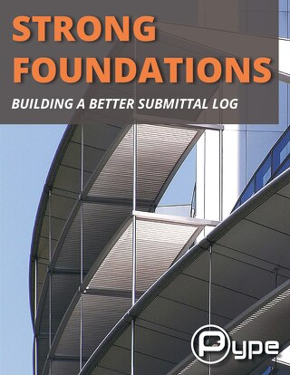 Strong Foundations - Submittal Logs eBook
