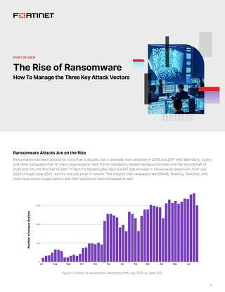 The Rise of Ransomware POV