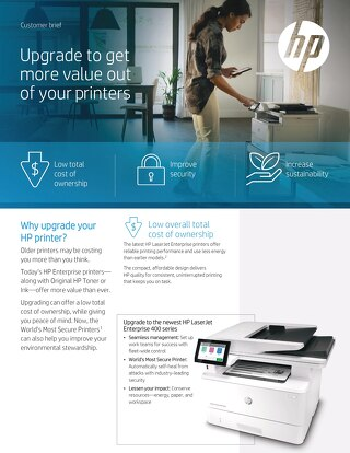 HP Replace the Base - Customer Brief