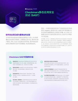 CxSAST Chinese Datasheet - 2021