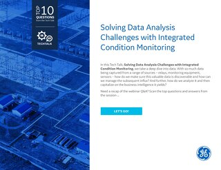 FAQ: Solving Data Analysis Challenges with Integrated Condition Monitoring