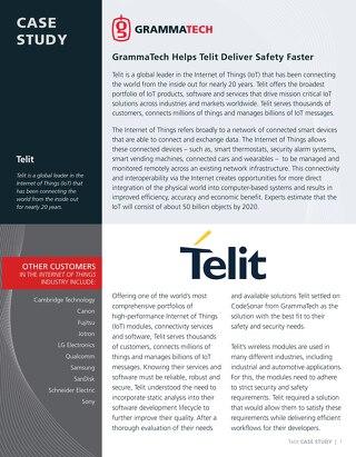 Telit Case Study