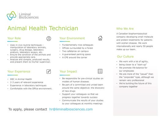 Animal Health Technician