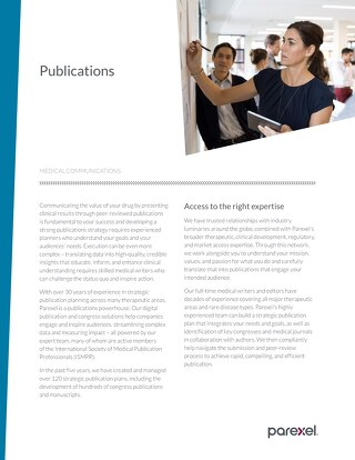 Global Publications Factsheet