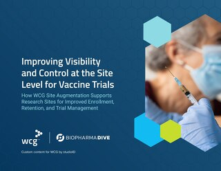 Improving Visibility and Control at the Site Level for Vaccine Trials