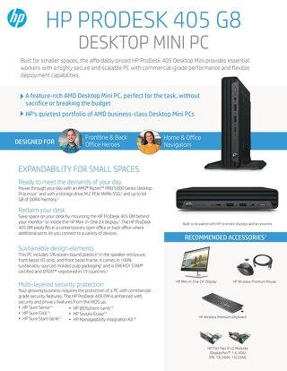 HP ProDesk 405 G8 - Data Sheet