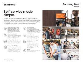 Samsung Kiosk KM24A-Self-Service Made Simple