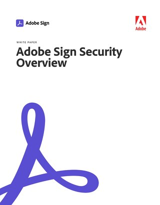 Adobe Sign Security Overview