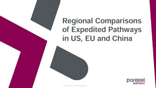 Expedited Pathways Comparisons - US EU CHN