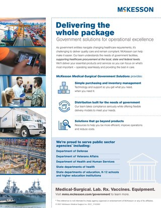 Government solutions for operational excellence