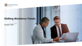 October 2021 Shifting Trends Report