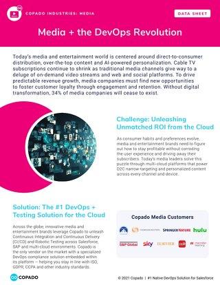 Media + the DevOps Revolution