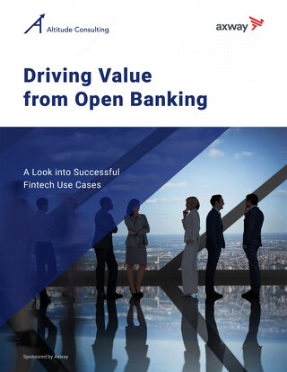 Driving Value from Open Banking