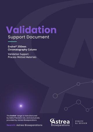 Evolve® 350 Validation Support