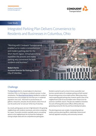 Integrated Parking Plan Delivers Convenience to Residents and Businesses in Columbus, Ohio