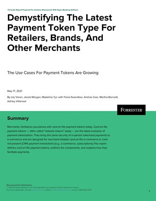 Demystifying The Latest Payment Token Type For Retailers Brands And Other Merchants