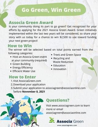 Green Award 2021 Flyer