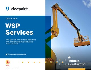 WSP Services Turns to Jobpac Connect, Field View to Scale Operations