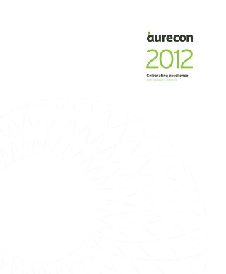Awards 2012 Celebrating excellence