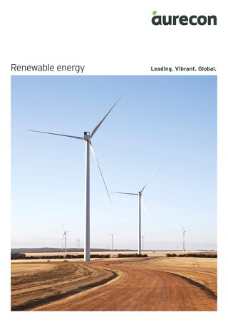 Renewable Energy Competency brochure