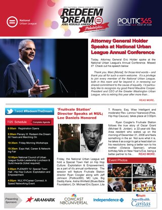 Redeem the Dream - NUL Digital Digest - Friday, July 26, 2013
