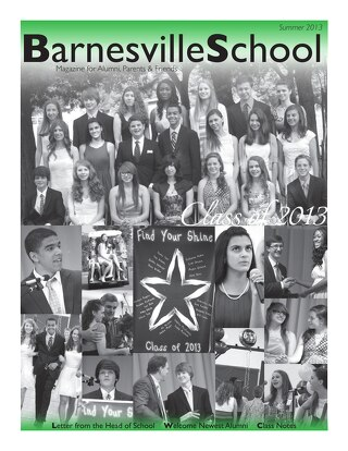 Summer 2013 Alumni Magazine