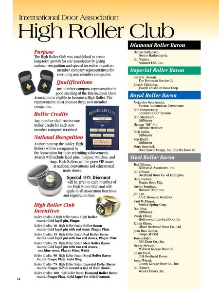 Contents of this Issue  sc 1 st  International Door Association : royal doors inc - pezcame.com