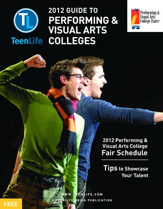 2012 Guide to Performing & Visual Arts Colleges