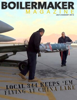 BOILERMAKER MAGAZINE | July/August 2013