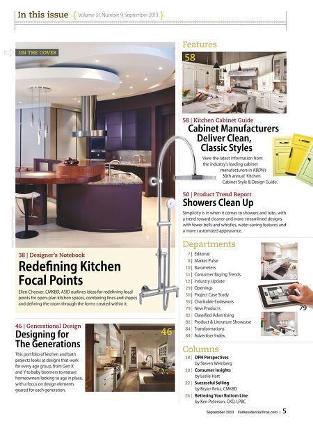 Kitchen Bath Design News SEP 2013