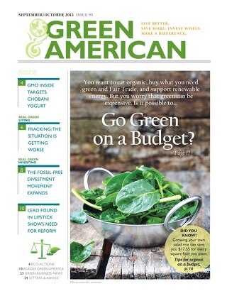 Green American #95, September-October 2013