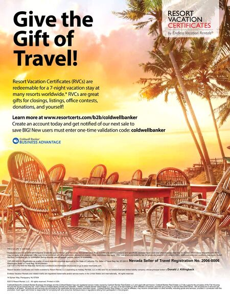 Coldwell Banker Business Advantage Programs - End of Summer Savings