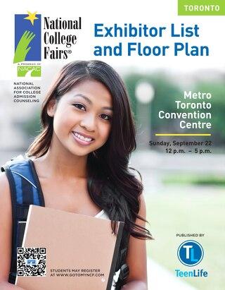 NACAC 2013 Toronto Exhibitor List & Floor Plan