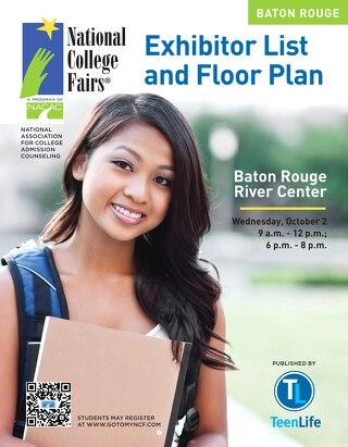 NACAC 2013 Baton Rouge Exhibitor List & Floor Plan