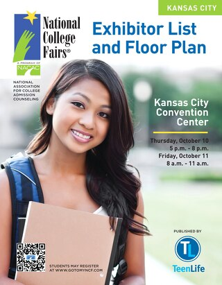 NACAC 2013 Kansas City Exhibitor List & Floor Plan